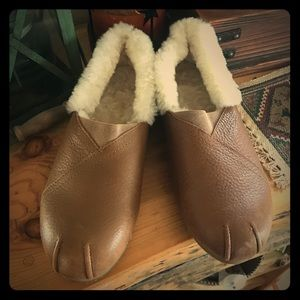 Shearling Mocc Slippers